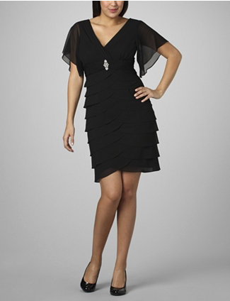 2011 Holiday Dresses for Plus Size Women