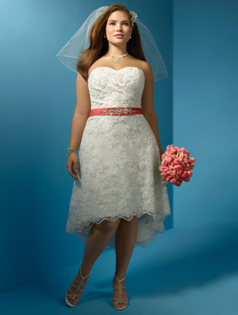 2012 Plus Size Wedding Dress Trends - Real Women Have Curves Blog