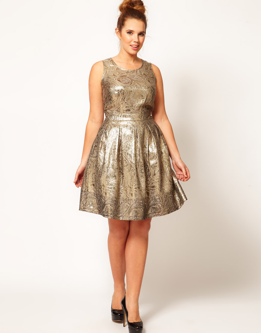 Christmas Party Dresses Plus Size image