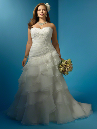 2014 Plus Size Wedding Dress Trends 6