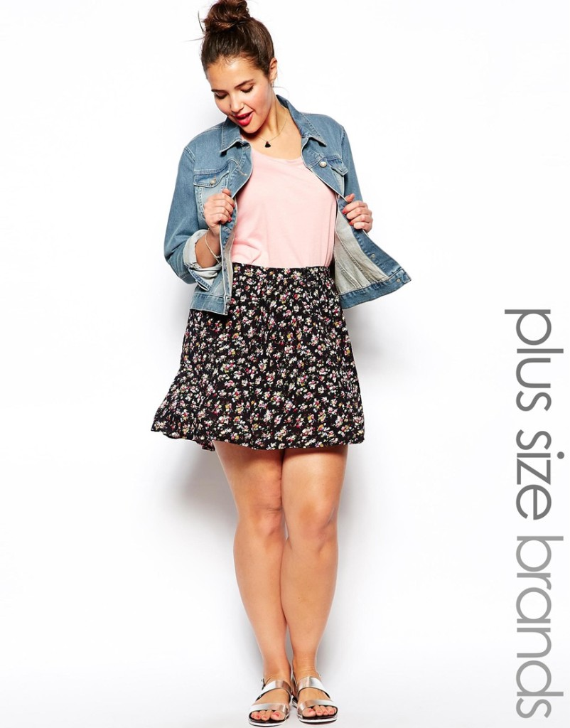 2014 Spring - Summer Plus Size Fashion - Why The Skater Skirt Should Be Your Best Friend 10