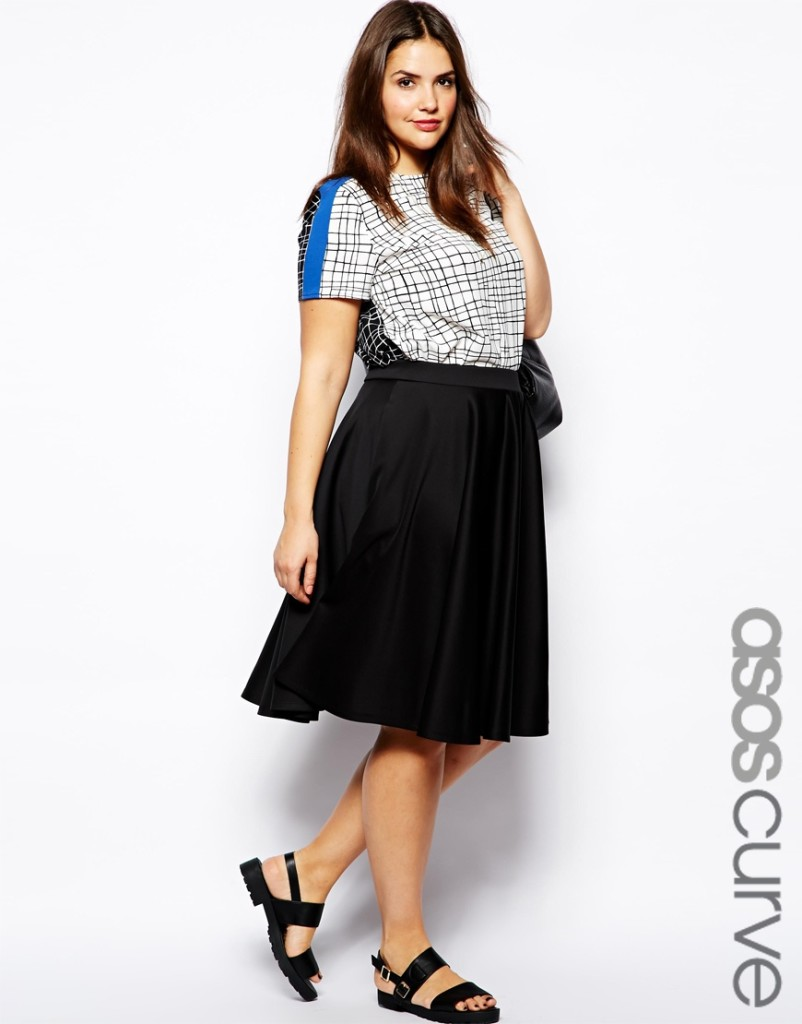 2014 Spring - Summer Plus Size Fashion - Why The Skater Skirt Should Be Your Best Friend 6