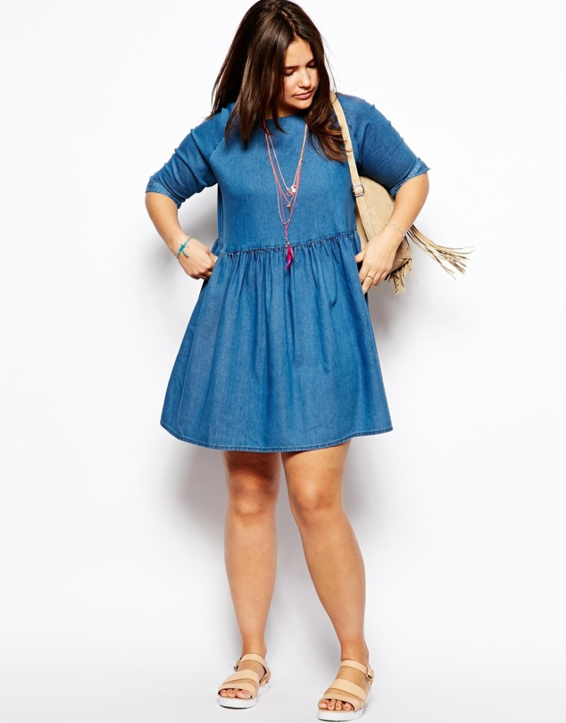 2014 Spring and Summer Plus Size Dresses 4