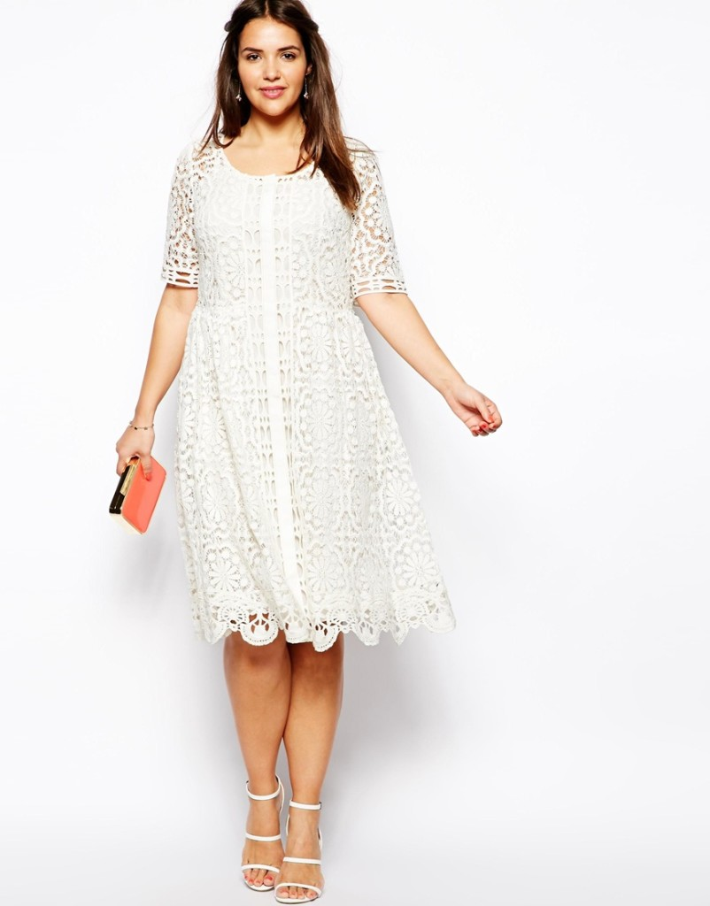 2014 Spring and Summer Plus Size Dresses 9