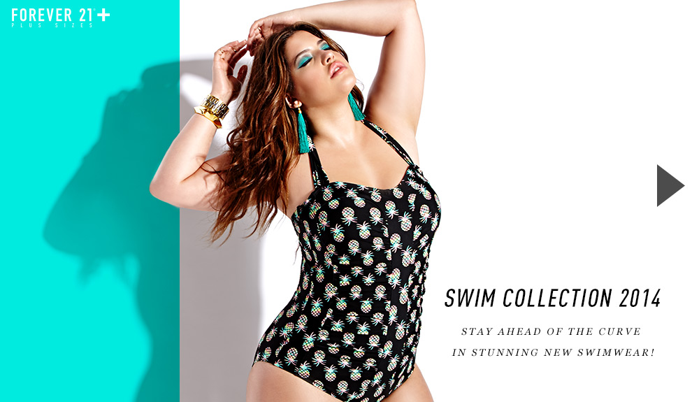 Forever 21+ 2014 Swim Collection