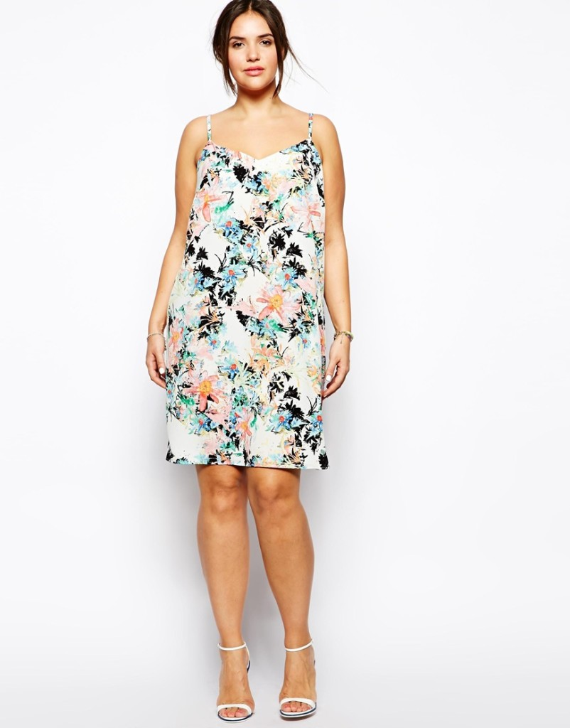 Plus Size Fashion - How To Wear Floral Prints With A Curvy Shape 3