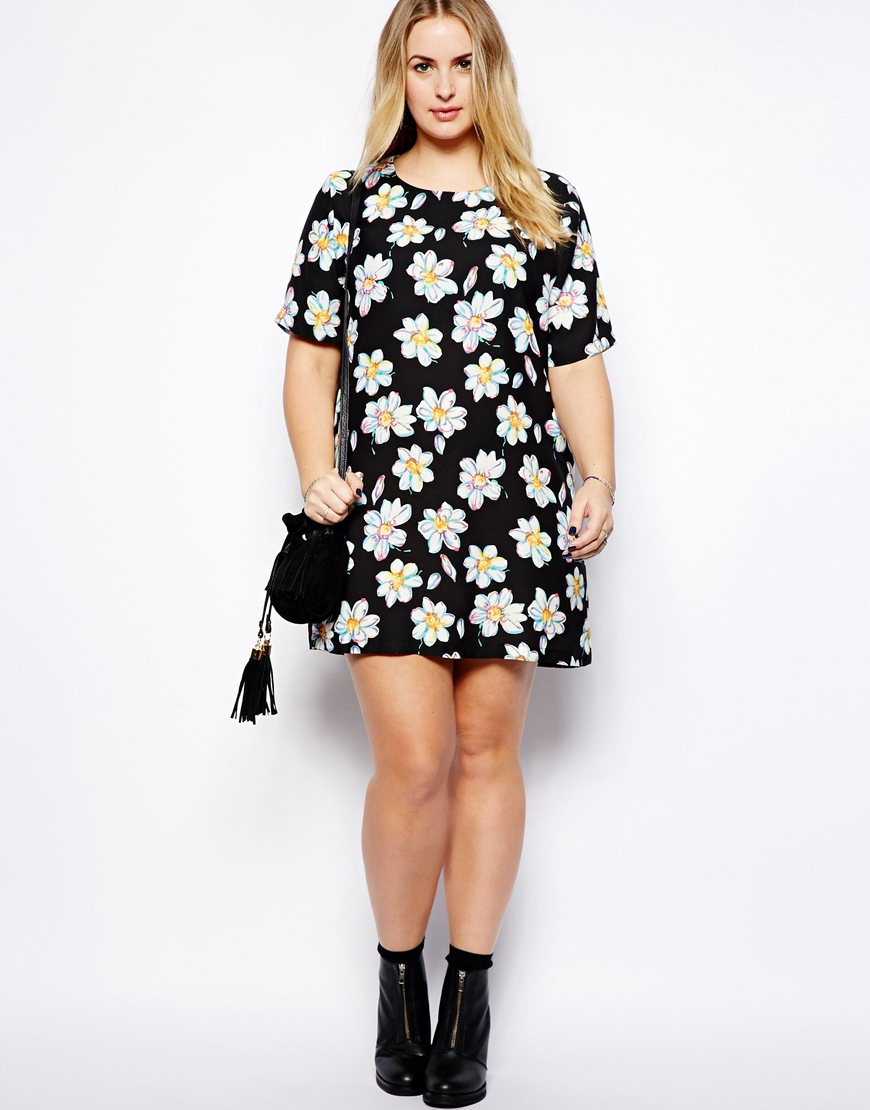 Plus Size Fashion – How To Wear Floral Prints With A Curvy ...