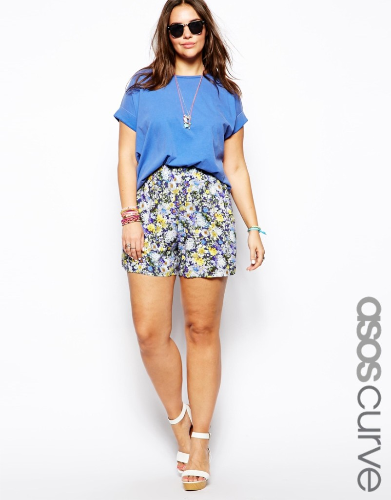 Plus Size Fashion - How To Wear Floral Prints With A Curvy Shape 5