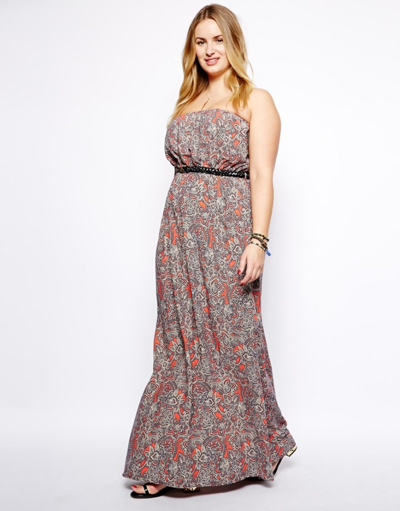 10 Maxi Dresses We Love For Women With Curves 10