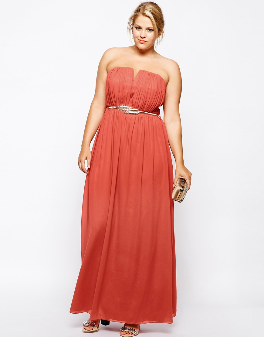 v neck plus size promenade attire