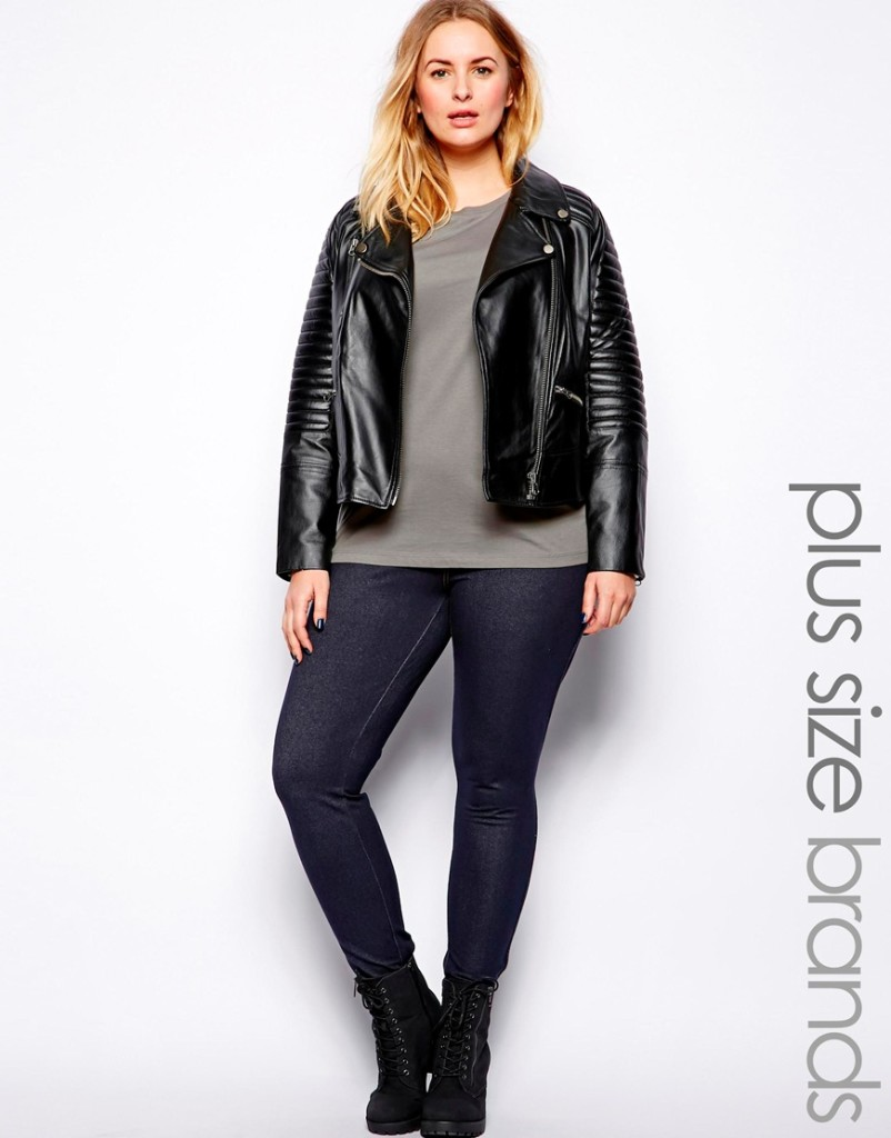 2014 Fall & Winter 2015 Plus Size Fashion Trends 3