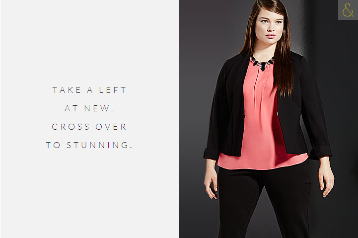 LANE BRYANT's New Clothing Collection 6TH & LANE or Fall 2014 7