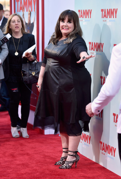 Melissa McCarthy's All Black 'Tammy' Premiere Outfit 5