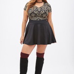 2014 Holiday Plus Size Dresses & Outfit Ideas 13