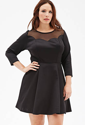 2014 Holiday Plus Size Dresses & Outfit Ideas 5